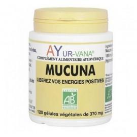 Ayur-Vana - Mucuna Bio Vitalité Psychique - 120 gélules