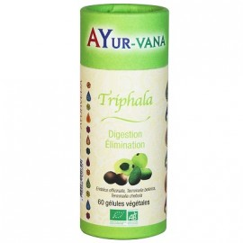 Ayur-Vana - Triphala bio - 60 gélules