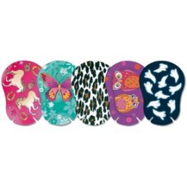 ORTOPAD ® girls - Cache oculaire occlusif Regular grands motifs - boîtes de 50 pièces
