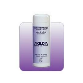 Akildia - Lotion de toilette sans rinçage Pour Pieds Diabétique - Flacon de 200 ML