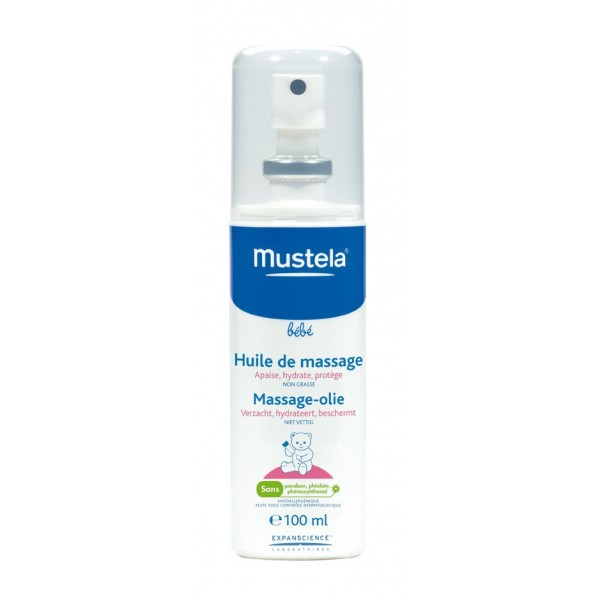 mustela c huile de massage 110ml cat gorie cr mes hydratantes pour b b s. Black Bedroom Furniture Sets. Home Design Ideas