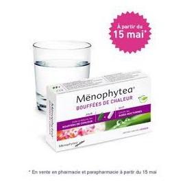 Ménophytea - Bouffées de Chaleur Jour et Nuit - Boite de 40 gélules