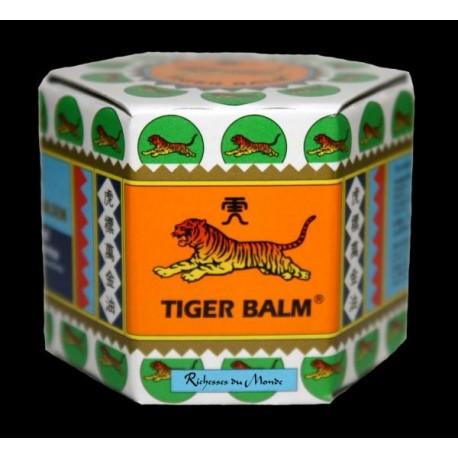 Baume du Tigre de Chine Blanc - Baume de Massage Respiratoire - Pot de 21 ml