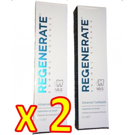 Regenerate - Dentifrice Expert - Usage Quotidien - Tube 75 ml