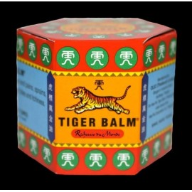 Baume du Tigre Rouge - Baume de Massage Camphré - Pot de 21 ml