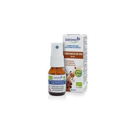 Ladrôme - Fleurs de Bach Complexe D'Elixirs Floraux Concentration - Spray 20 ML