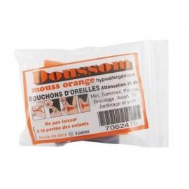 Doussom - Obturateurs Soft Bleu - 5 paires