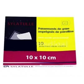 Sylamed - Pansement gras SYLATULLE - 10 x 10 cm