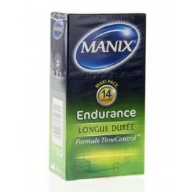 Manix - Endurance - 14 Préservatifs