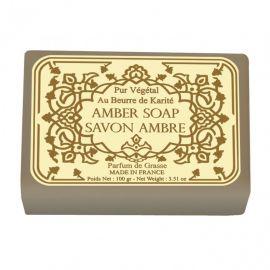 LeBlanc - Savon Parfumé Au beurre de Karité - Ambre - 100 gr