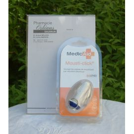 Mousti-click - Pulse Etincelle anti-moustique Bleu - Magnien