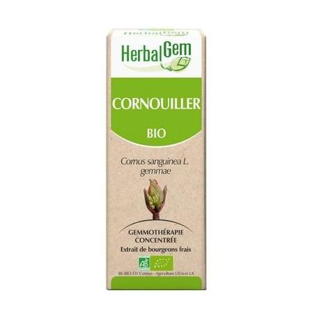 Herbalgem - Cornouiller Bourgeons Macérats-Mères Concentrés Bio - 30 ml
