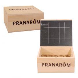 Pranarôm - Mini-Aromathèque Coffret Vide pour stockage des Huiles essentielles - 20 flacons.