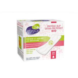 Unyque - Protége Slip Pocket Coton Bio - boîte 24
