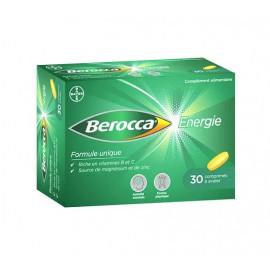 Berocca - Comprimés Pélliculés Thiamine - 30 Cps