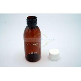 Flacon Brun pour préparation - 150 ml