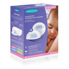 Lansinoh - Coussinets d'allaitement jetables - 24 Coussinets