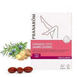 Pranarôm - Circularom Spray Corporel - Jambes Légères - Flacon de 75 ml