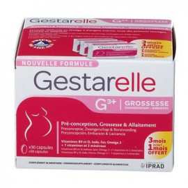 Gestarelle G - Complement Grossesse - Boite de 90