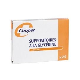 Suppositoire Glycérine Adulte Cooper - Boite 25