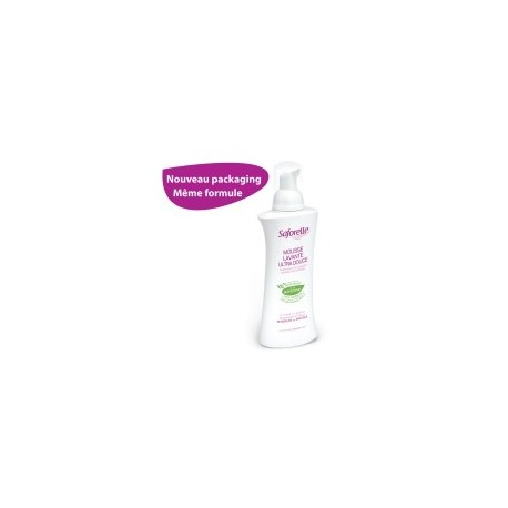 Saforelle - Mousse Lavante Ultra Douce - 250 ml