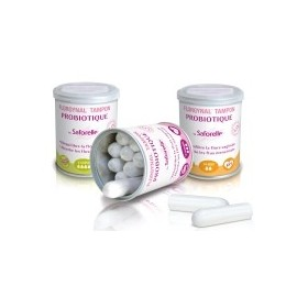 """Saforelle - Florgynal ® Tampon """"Super"""" Probiotique - 8 tampons"""