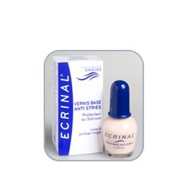 Ecrinal - Vernis Base Lissant Anti-stries - Flacon 10 ml