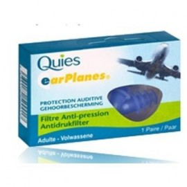 Quies - Protections Auditives EAR PLANES - 1 paire adulte