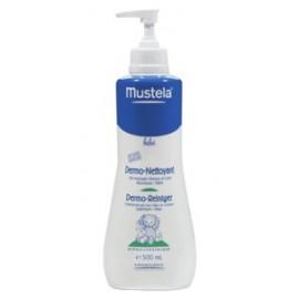 Mustela Bébé - Dermo-Nettoyant Cheveux et Corps - Flacon Pompe 500 Ml