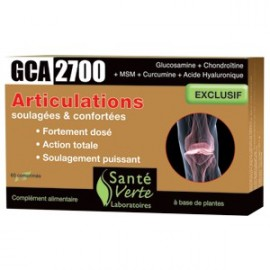 Santé Verte - GCA 2700 - Articulations Douloureuses - 60 cps
