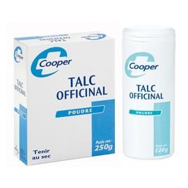 Cooper - Talc Officinal - Flacon poudreur 120 gr
