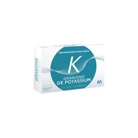 Granions - Granions De Potassium - Boite de 30 Ampoules