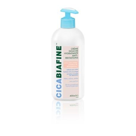 Cicabiafine - Crème douche hydratante anti-irritations - Flacon Pompe 400 ml