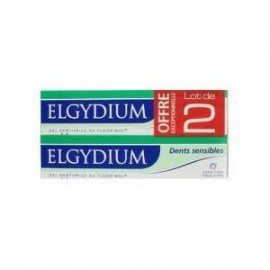 Elgydium Dents Sensibles - Lot de 2 x 75 ML