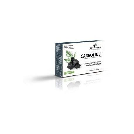 Carboline - Inconfort Intestinal à base de Charbon et Fenouil - 30 cp