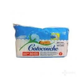 Cotocouche - Couches 1er Âge - Paquet de 30 Couches