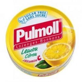 Pulmoll - Pastilles sans sucres Gorge Arôme Orange et vitamine C - 45 gr