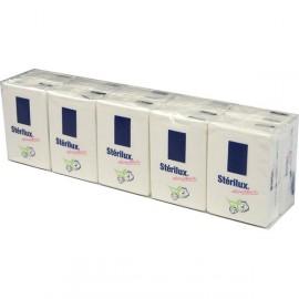 Mouchoir papier Pocket Stérilux 10 paquets