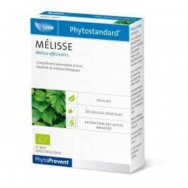 EPS Mélisse - 20 Gélules - Phytostandard - Phytoprevent