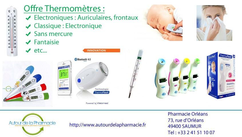 Offre thermomètre Octobre 2015 code : DEUE857J